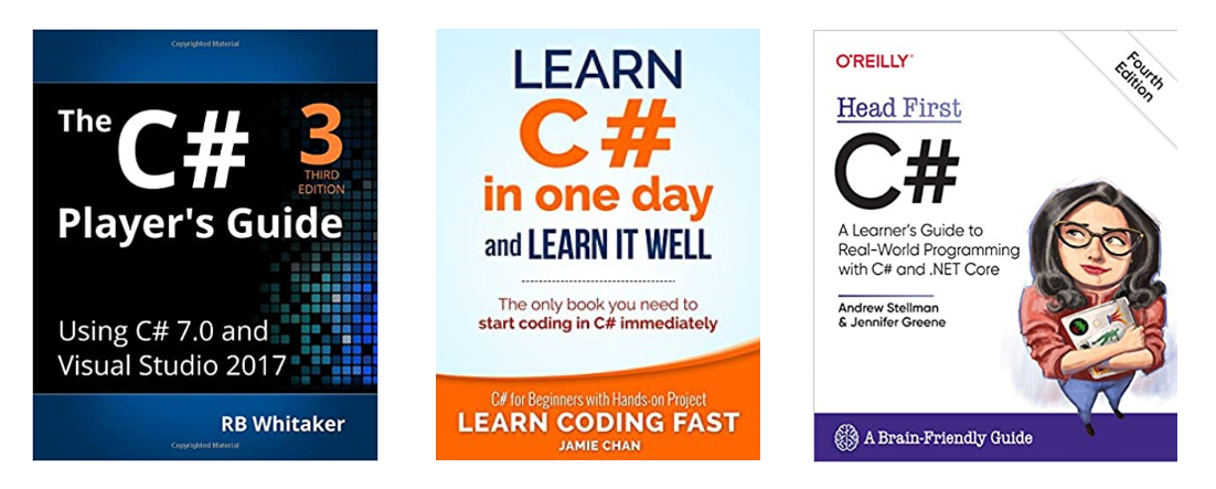 c sharp programming books