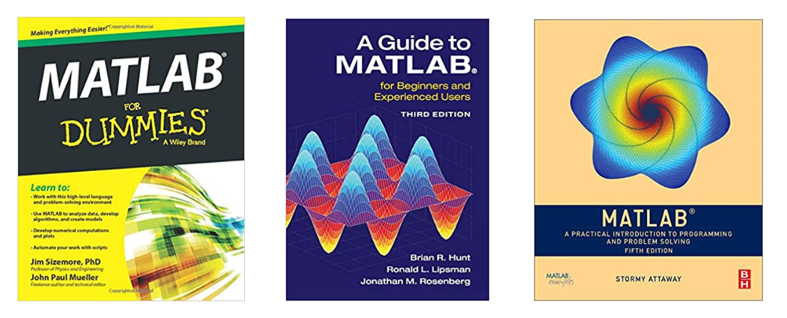 matlab programming books